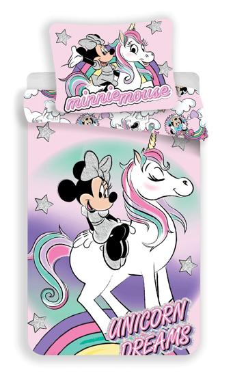 Obrázek z Povlečení Minnie unicorn 140x200, 70x90 cm