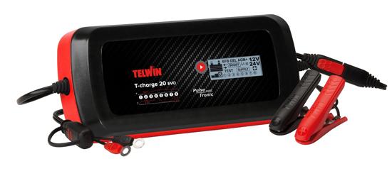 Obrázek z Automatická nabíječka autobaterií T-Charge 20 EVO Telwin
