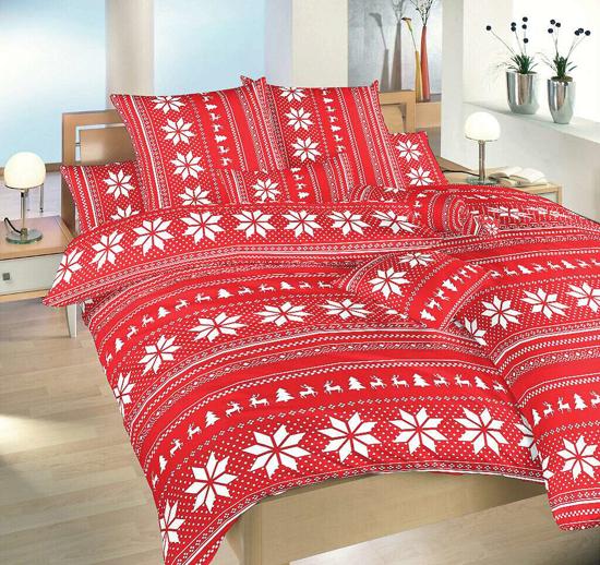Obrázek z Povlečení bavlna Sobi červení 70x90 cm povlak