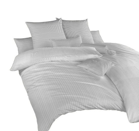 Obrázek z Povlečení bavlna Linea černá 140x220, 70x90 cm