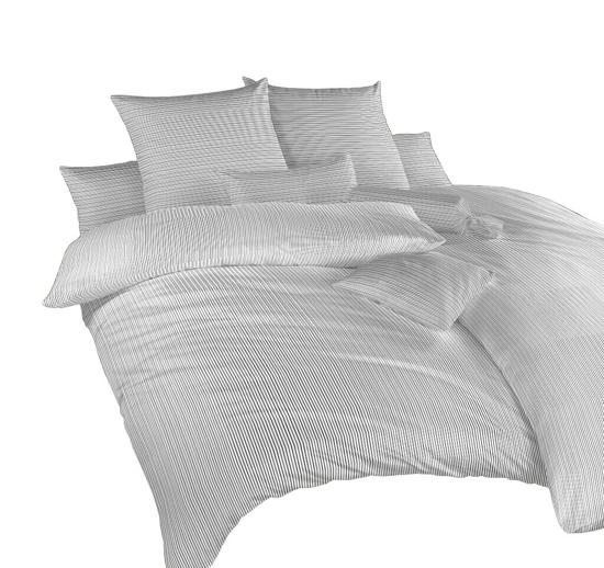 Obrázek z Povlečení bavlna Linea černá 140x200, 70x90 cm