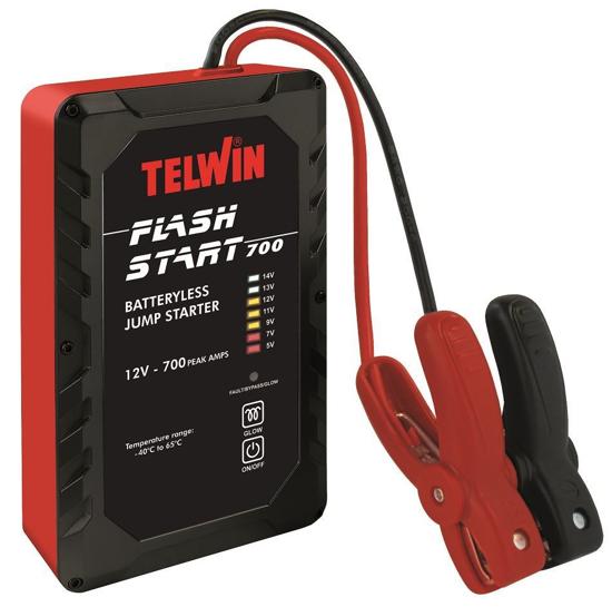 Obrázek z Startovací zdroj kondenzátorový  Flash Start 700 12 V Telwin