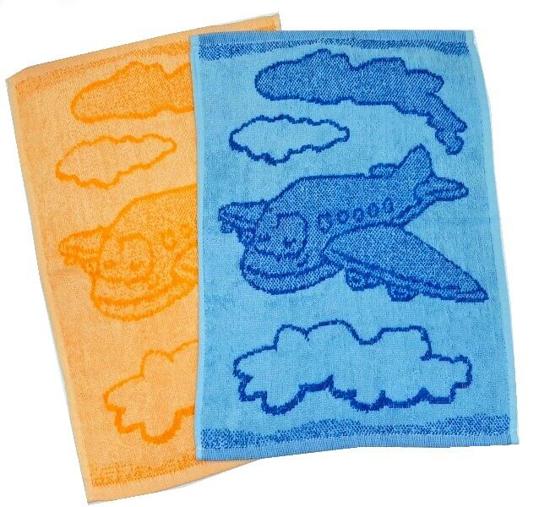Obrázek z Dětský ručník Plane 30x50 cm