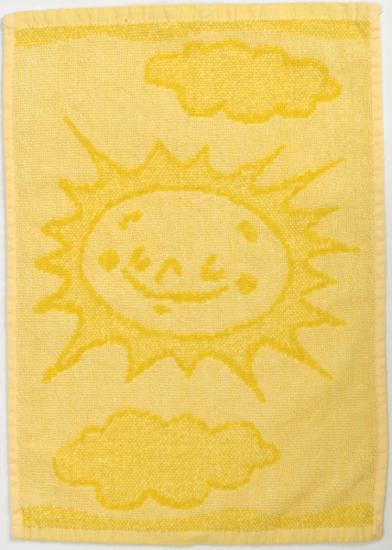 Obrázek z Dětský ručník Sun yellow 30x50 cm