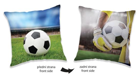 Obrázek z Polštářek Fotbal two sides 40x40 cm