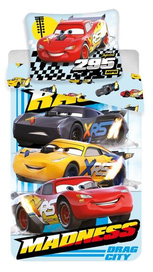Obrázek z Povlečení Cars Madness 140x200, 70x90 cm