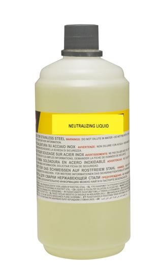 Obrázek z Neutralizační kapalina čističe nerezových svárů 1 lt