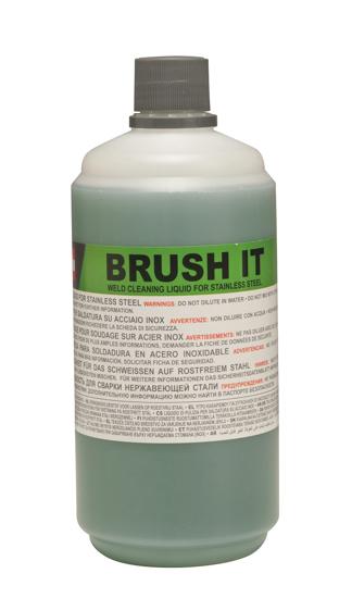 Obrázek z Čistící kapalina pro čištění nerezových svárů malých ploch Brush IT Telwin 1 lt