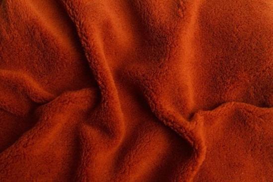 Obrázek z Prostěradlo mikroflanel terakota