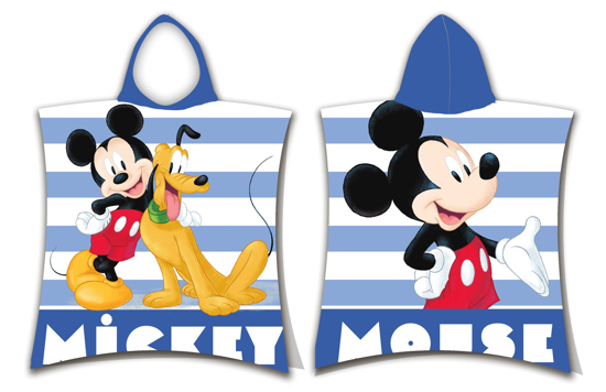 Obrázek z Pončo Mickey stripe 50x115 cm