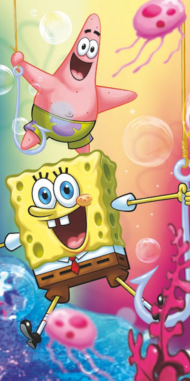 Obrázek z Osuška Sponge Bob 012 70x140 cm
