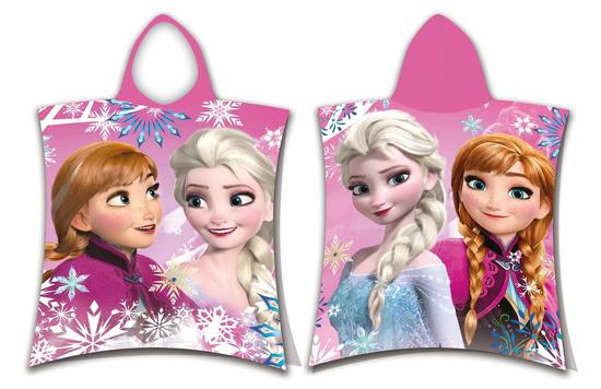 Obrázek z Pončo Frozen sisters 50x115 cm