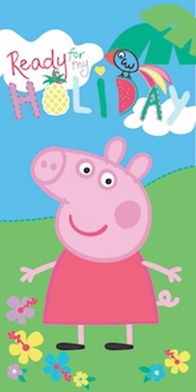 Obrázek z Osuška Peppa Pig 061 70x140 cm
