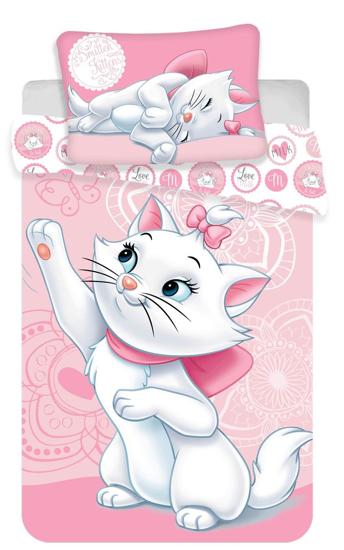 Obrázek z Disney povlečení do postýlky Marie cat baby 100x135, 40x60 cm