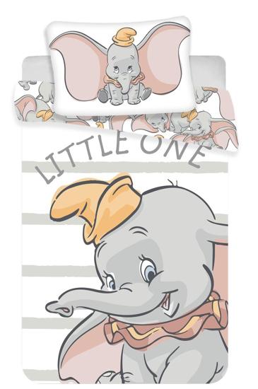 Obrázek z Disney povlečení do postýlky Dumbo baby 100x135, 40x60 cm