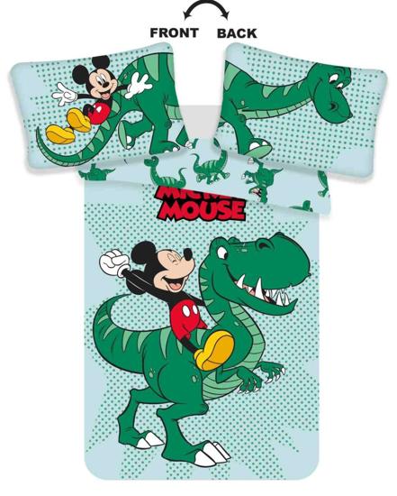 Obrázek z Disney povlečení do postýlky Mickey Dino baby 100x135, 40x60 cm