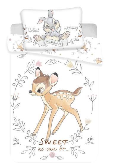 Obrázek z Disney povlečení do postýlky Bambi sweet baby 100x135, 40x60 cm