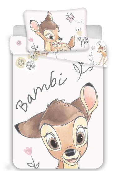 Obrázek z Disney povlečení do postýlky Bambi baby 100x135, 40x60 cm