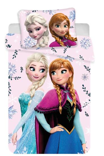 Obrázek z Disney povlečení do postýlky Frozen baby Floral 100x135, 60x40 cm