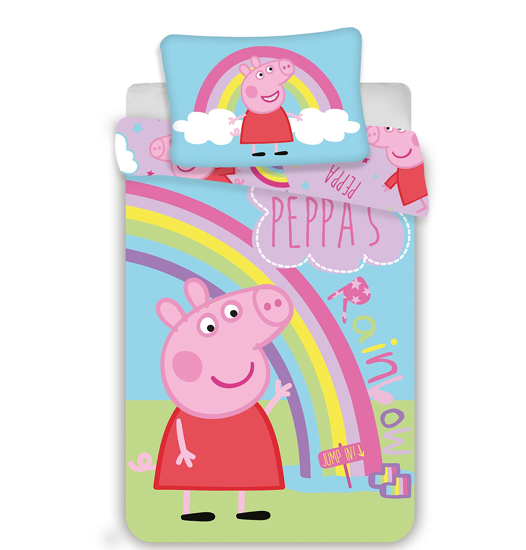 Obrázek z Disney povlečení do postýlky Peppa Pig 016 baby 100x135, 40x60 cm