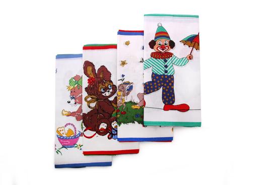 Obrázek z Dětský kapesník C06 bal 6 ks - tisk