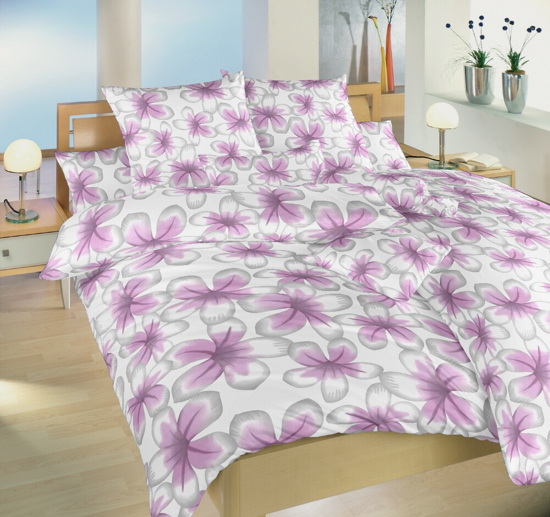 Obrázek z Povlečení flanel Jablůňka růžová 40x40 cm povlak