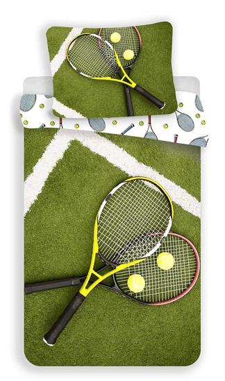 Obrázek z Povlečení fototisk Tenis 140x200, 70x90 cm