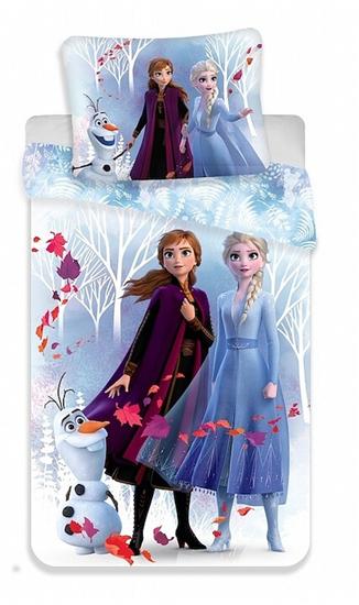 Obrázek z Povlečení Frozen 2 White 140x200, 70x90 cm