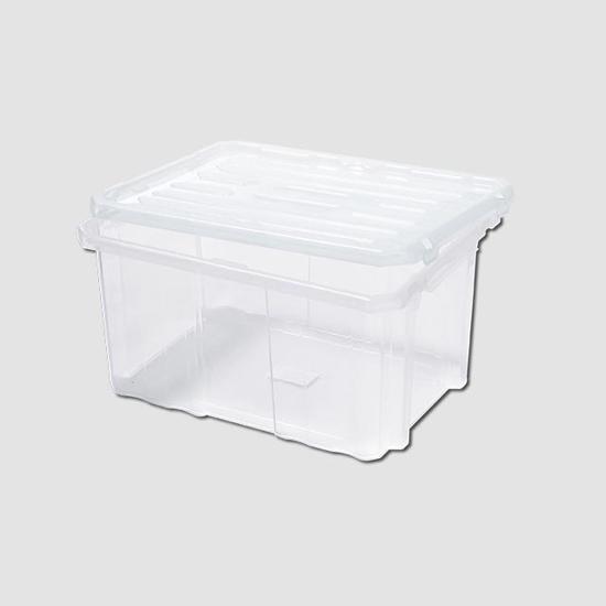 Obrázek z Box plastový s víkem 300x200x165mm Cargobox