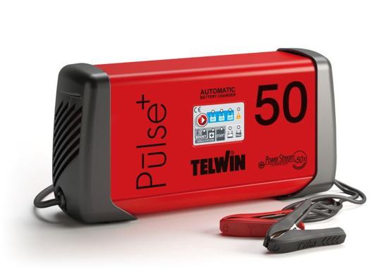 Obrázek z Microprocesorová automatická nabíječka Pulse 50 Telwin