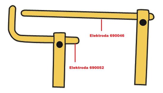 Obrázek z Elektroda pro čelisti XA3 Telwin 690052