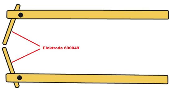 Obrázek z Elektroda pro čelisti XA7 Telwin 690049