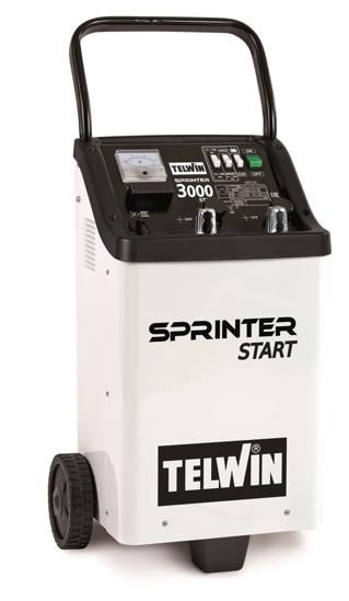 Obrázek z Startovací vozík s nabíječkou Sprinter 3000 Start Telwin