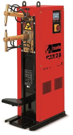 Obrázek z Sloupová bodovačka - bodovka PTE 28 LCD ramena 500 mm Telwin
