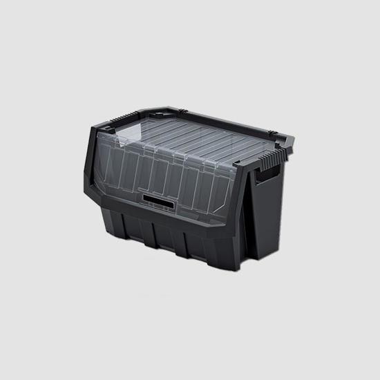 Obrázek z Plastový úložný box uzavíratelný TRUCK MAX PLUS 396x380x282mm