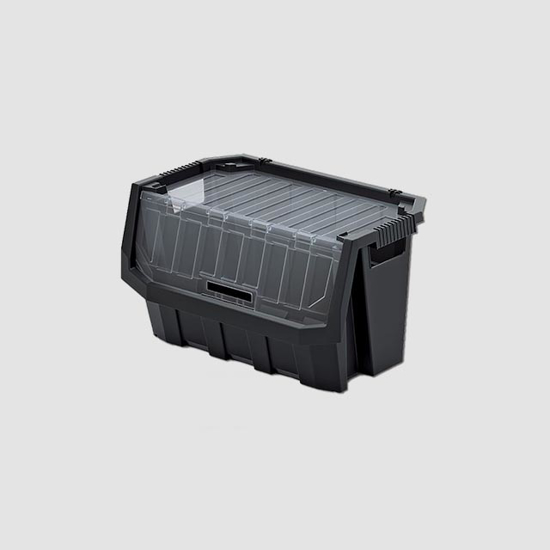 Obrázek z Plastový úložný box uzavíratelný TRUCK MAX PLUS 396x290x280mm