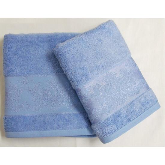Obrázek z Bambusový ručník Jasmin modrý 50x100 cm