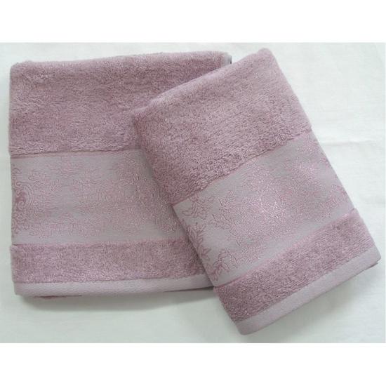 Obrázek z Bambusový ručník Jasmin fialový 50x100 cm