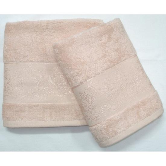 Obrázek z Bambusový ručník Jasmin béžový 50x100 cm