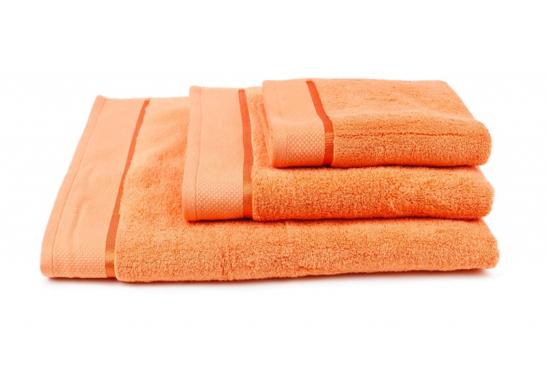Obrázek z Osuška Star 70x140 cm oranžová