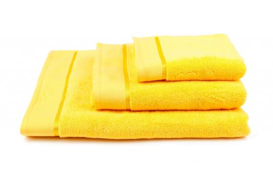 Obrázek z Osuška Star 70x140 cm žlutá