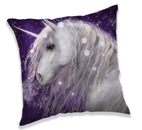 Obrázek z Povlak na polštářek Unicorn purple 40x40 cm