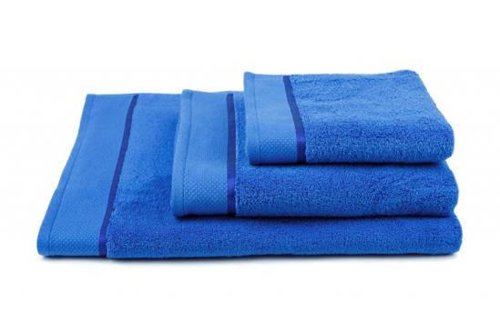 Obrázek z Ručník Star 50x100 cm tmavě modrá