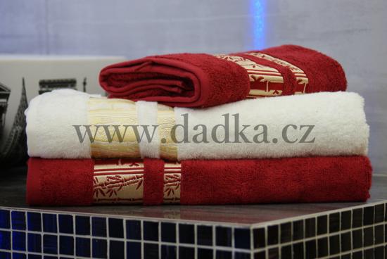 Obrázek z Bambusový ručník Exclusive 50x90 cm krémová