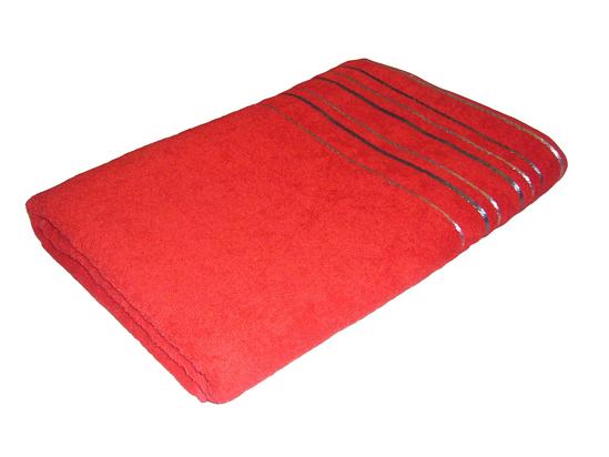 Obrázek z Ručník Zara 50x100 cm červená