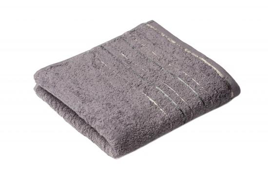 Obrázek z Ručník Zara 50x100 cm tmavě šedý