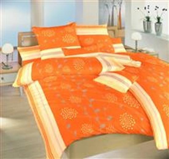 Obrázek z Povlečení krep Liána oranžová