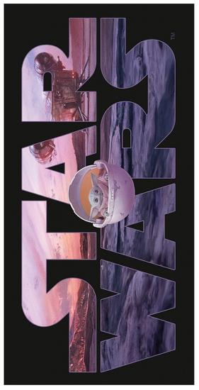 Obrázek z Plážová osuška Star Wars Mandalorian 70x140 cm