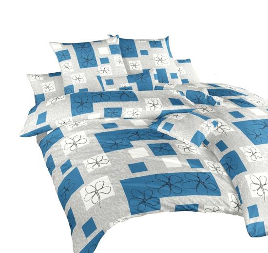 Obrázek z Povlečení bavlna Gobelín modrý 220x200 cm povlak