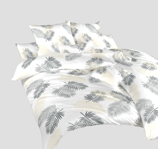 Obrázek z Povlečení bavlna Peříčka 240x200, 2x70x90 cm